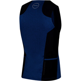 Zone3 Performance Culture Tri Toppi Miehet, marl navy/black/grey
